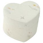 Unity Floral Heart Biodegradable Urn for Two