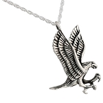 Large Eagle Cremation Jewelry