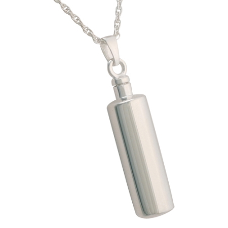 Simplicity cylinder cremation jewelry remembrance necklaces simplicity cylinder cremation jewelry remembrance necklaces pendants for ashes mozeypictures Choice Image
