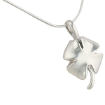 Four Leaf Clover Cremation Jewelry