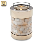 Mother of Pearl Tealight Urn - LoveUrns