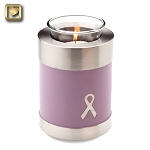 Awareness Pink Tealight Urn - LoveUrns