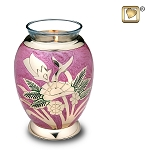 Rose Pink Tealight Urn - LoveUrns