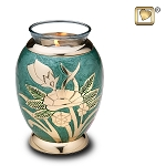 Rose Emerald Tealight Urn - LoveUrns