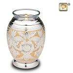 Ornate Floral Tealight Urn - LoveUrns