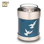 Divine Flying Doves Tealight Urn - LoveUrns