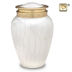 Blessing Pearl Brass Urn - LoveUrns