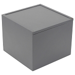 Simple Cube Urn Gray