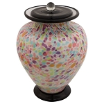 Piccolo Hand Blown Glass Cremation Urn