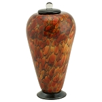 Etude Hand Blown Glass Urn