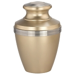 Avalon Brass Urn - Gold
