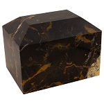 Alpha Ingot King Gold Genuine Marble Urn