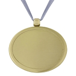 Urn Pendant in Brushed Gold