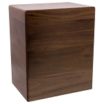 Arden Walnut Wood Urn