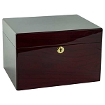 Devotion Rosewood Chest Urn - Howard Miller