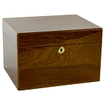 Devotion Oak Chest Urn - Howard Miller