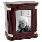 Rosewood Hall Photo Chest Urn - Howard Miller