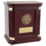 Rosewood Hall Medallion Urn - Howard Miller