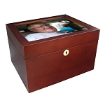 Fidelis Photo Chest Urn - Howard Miller
