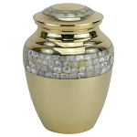 Highcourt Pearl Brass Urn