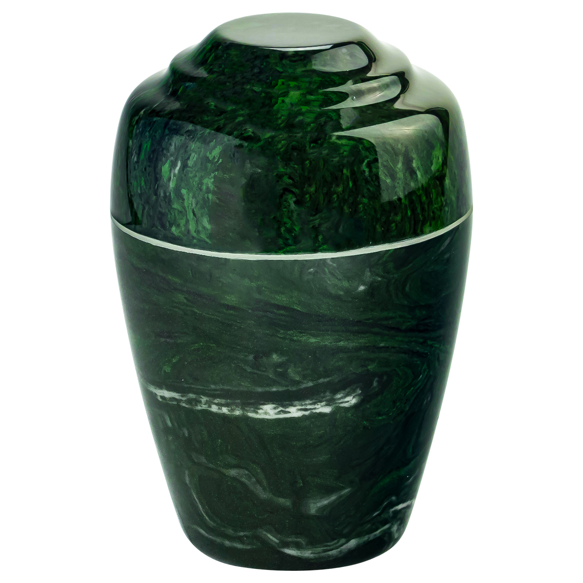 Verde Grecian Cultured Marble Urn Extra Small