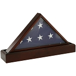 Flag Case & Pedestal Urn - Cherry