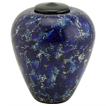 Allegro Hand Blown Glass Urn