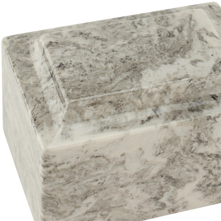 Cashmere Gray Classic Cultured Marble Urn Stone