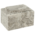 Cashmere Gray Classic Cultured Marble Urn
