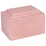 Pink Classic Cultured Marble Urn