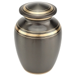 Dignity Gray Extra Small Brass Urn