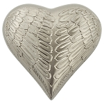 Angel Wings Pewter Keepsake Urn