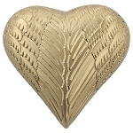 Angel Wings Gold Keepsake Urn