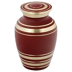 Elite Garnet Red Keepsake Urn