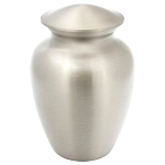 Simple Pewter Brass Urn - Extra Small