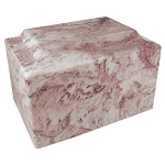 Wild Rose Classic Cultured Marble Urn