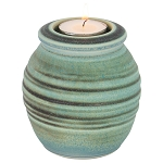 Meridian Ceramic Tealight Urn - Seabreeze