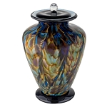 Sonata Hand Blown Glass Urn