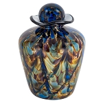 Sera Hand Blown Glass Urn