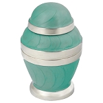 Royal Sea Foam Keepsake Urn