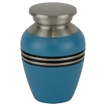 Blue Gloss Keepsake Urn