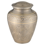 Platinum Elite Brass Urn