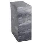 Tower Cashmere Gray Marble Urn