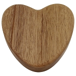 Devoted Heart Keepsake Urn Box - Mahogany
