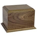 Seaton Walnut Cremation Urn