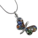 Floret Butterfly Cremation Jewelry