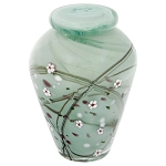 Blossom Hand Blown Glass Keepsake Urn