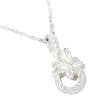 Butterfly Infinity Cremation Jewelry