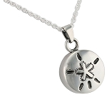 Sand Dollar Cremation Jewelry
