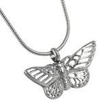 Lace Butterfly Cremation Jewelry